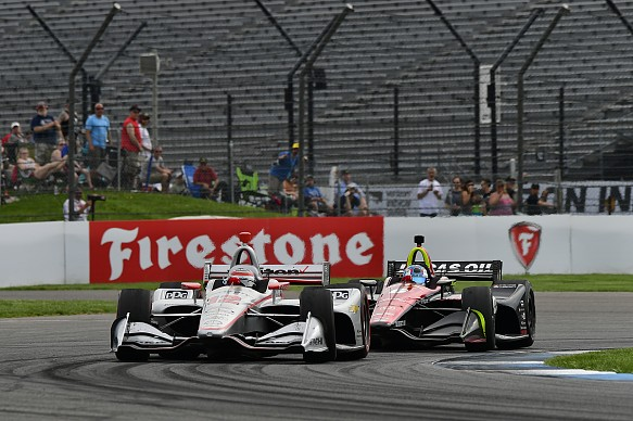 Will Power Robert Wickens Indianapolis 2018