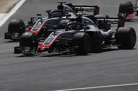 Magnussen Grosjean Haas F1 2018