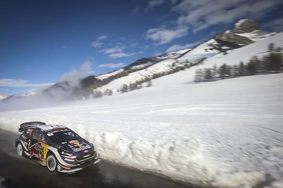 Sebastien Ogier M-Sport Ford WRC Monte Carlo 2018