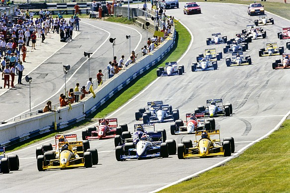 F3000 Brands Hatch start 1989