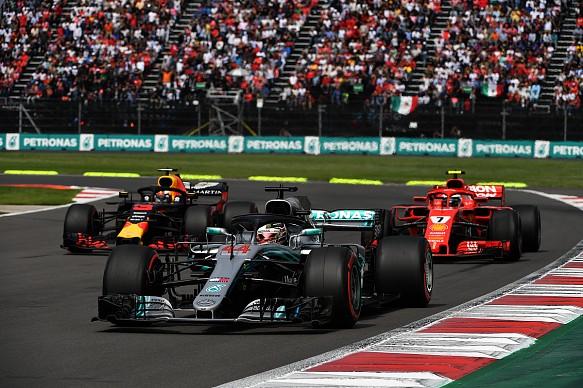 Red Bull Ferrari Mercedes F1 2018