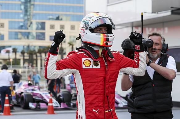 Azerbaijan Grand Prix: Sebastian Vettel claims third ...