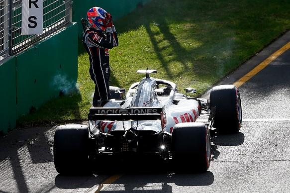 Romain Grosjean Australian GP 2018