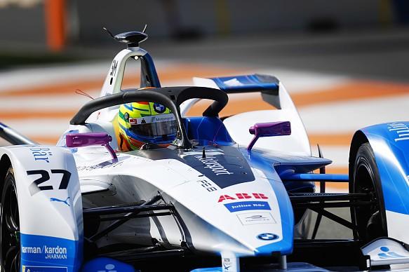 Alexander Sims BMW Formula E testing Valencia 2018