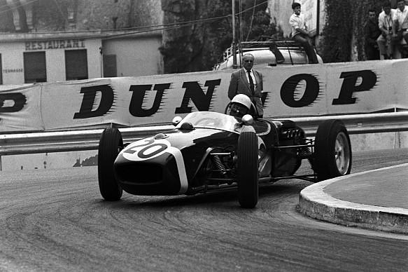 Stirling Moss Rob Walker Racing Lotus 1961 Monaco Grand Prix