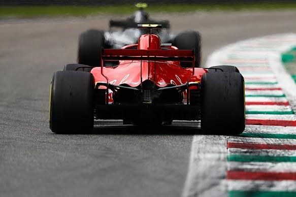 Kimi Raikkonen Ferrari Italian Grand Prix 2018