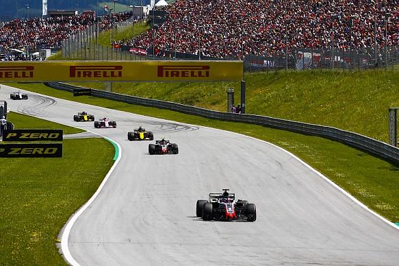 Grosjean Magnussen Haas Austrian Grand Prix 2018