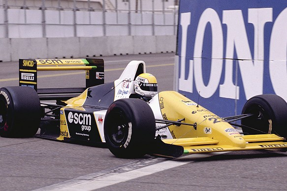 Pierluigi Martini Minardi Phoenix 1990