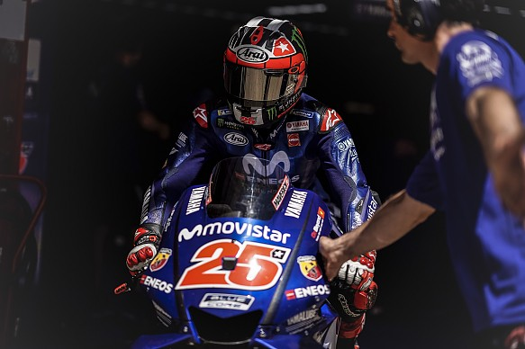 Maverick Vinales Yamaha Barcelona MotoGP test 2018