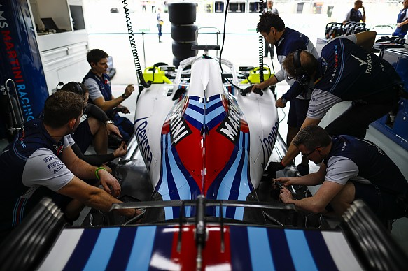 Williams F1 garage Engineer of Future Award
