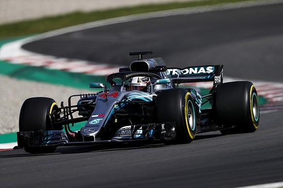 Lewis Hamilton F1 2018 Spain Mercedes