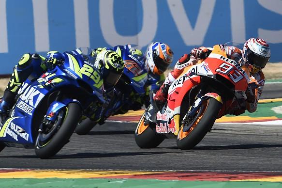 Iannone Marquez Rins MotoGP 2018