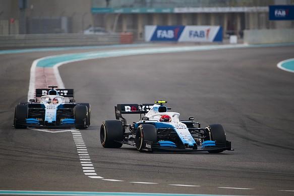 Kubica Abu Dhabi F1 2019