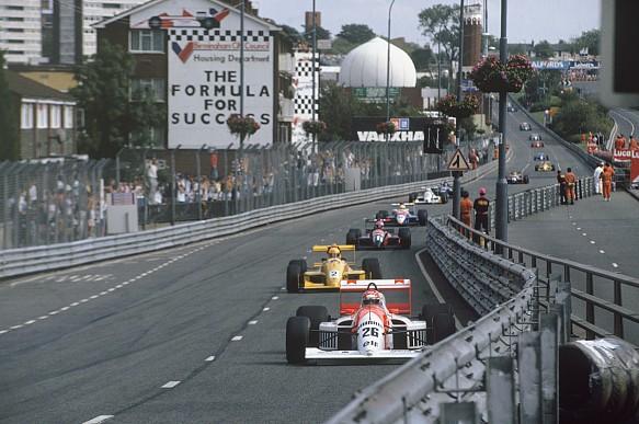 Erik Comas DAMS Birmingham Superprix F3000 1990