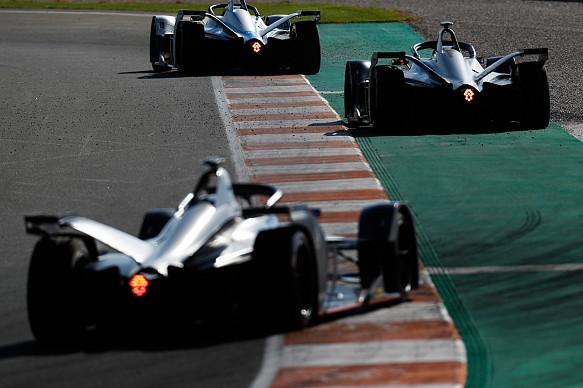 Formula E testing Valencia 2018 Gen2