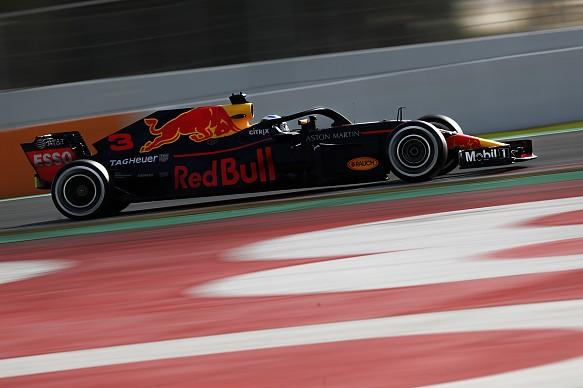 Daniel Ricciardo Red Bull F1 testing 2018