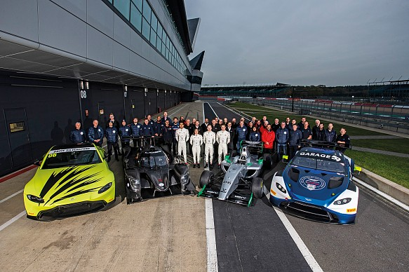 Aston Martin Autosport Award 2019 cars and finalists