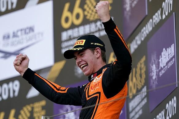 Richard Verschoor wins Macau GP 2019