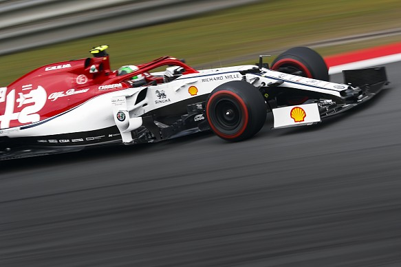Antonio Giovinazzi Sauber Chinese Grand Prix 2019