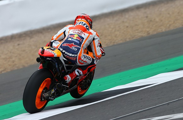 Marc Marquez Honda MotoGP Silverstone 2017