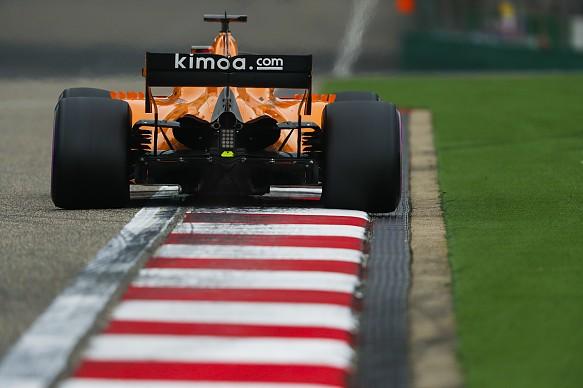 Fernando Alonso McLaren Chinese GP 2018