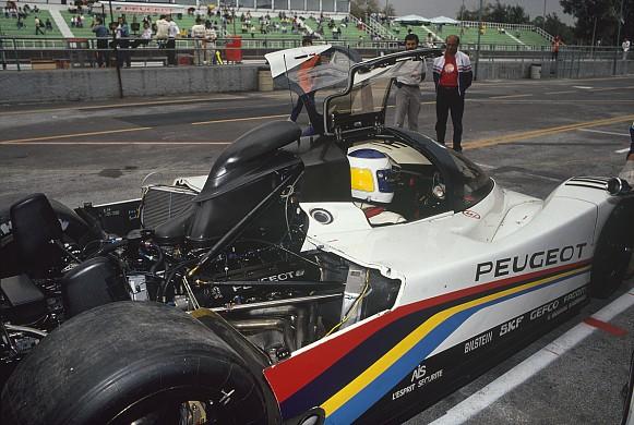 Keke Rosberg 1991 Autopolis Peugeot 905 WSC