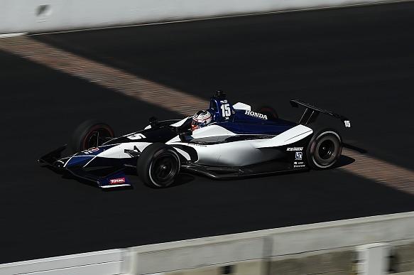 Graham Rahal RLLR IndyCar testing Indianapolis 2018