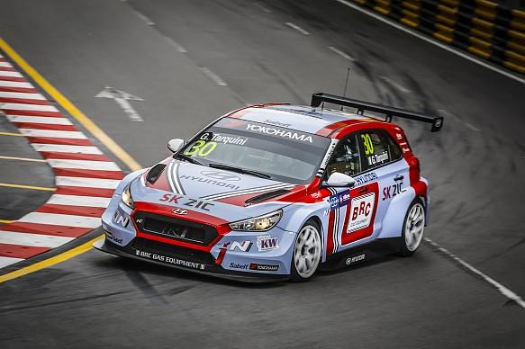 Gabriele Tarquini BRC Racing Hyundai i30 WTCR Macau 2018