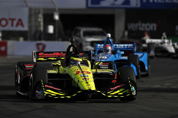 Sebastien Bourdais IndyCar Long Beach 2018