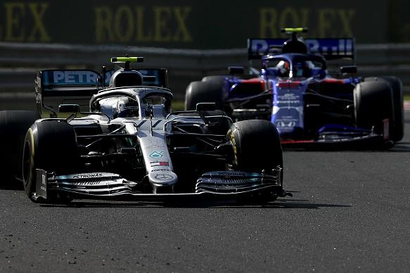 Bottas Albon Hungarian Grand Prix 2019