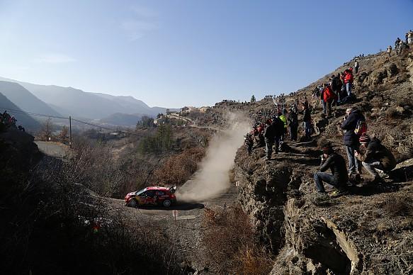 Esapekka Lappi Citroen WRC Monte Carlo Rally 2019