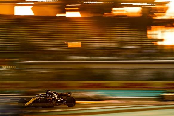Nico Hulkenberg Renault Abu Dhabi GP 2018