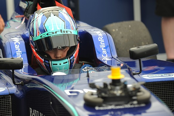 Billy Monger Carlin BRDC British Formula 3 2018