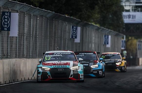 Gordon Shedden WRT Audi WTCR Wuhan 2018