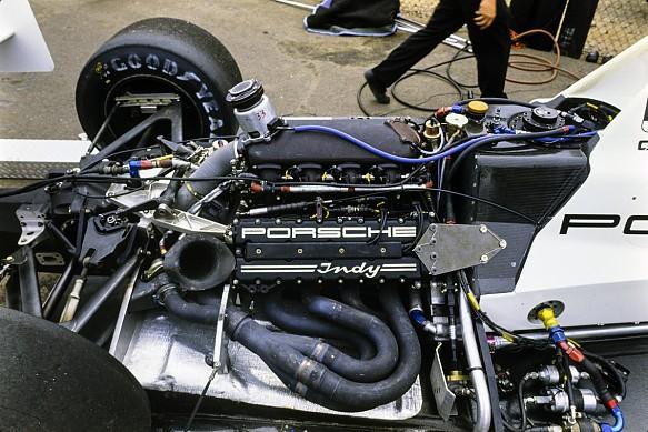 1990 Porsche 90P Indycar engine