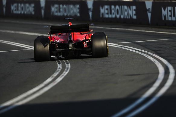 Sebastian Vettel Ferrari Australian GP 2019