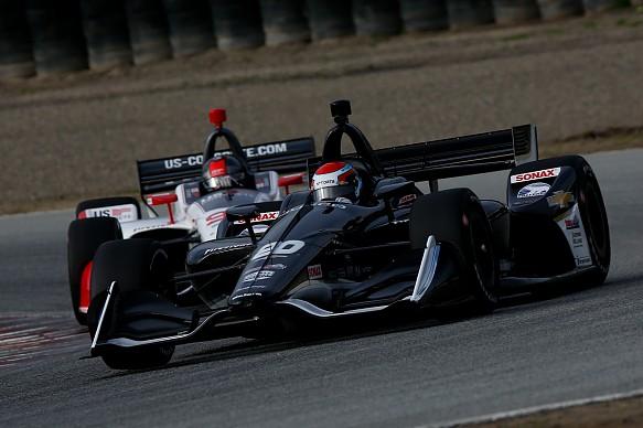 IndyCar Laguna test