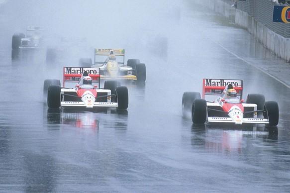 Australian GP start F1 1989