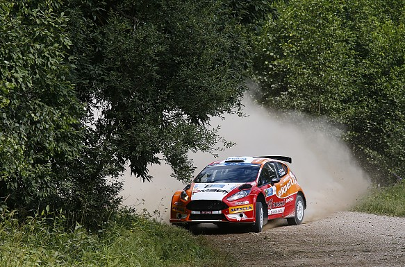 Ott Tanak Rally Estonia 2014