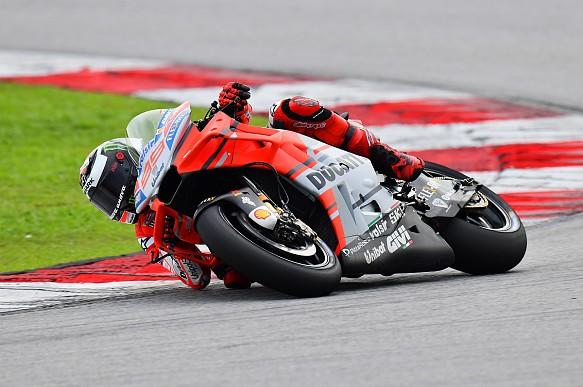 Jorge Lorenzo Ducati Sepang MotoGP testing 2018