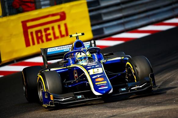 Lando Norris Monaco F2 2018