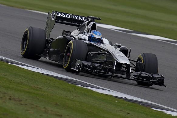 Will Palmer McLaren Autosport BRDC Award prize F1 run