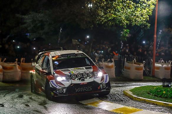 Ott Tanak Toyota WRC Rally Argentina 2019