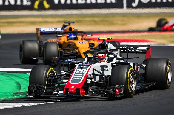 Kevin Magnussen 2018 British Grand Prix