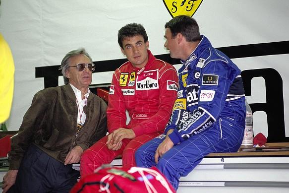 Jean Alesi Nigel Mansell 1991