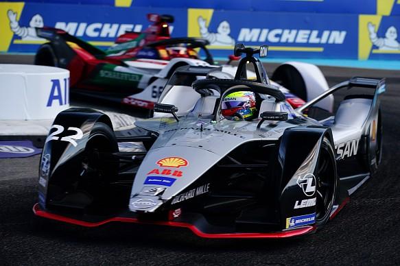 Oliver Rowland Nissan e.dams New York Formula E 2019