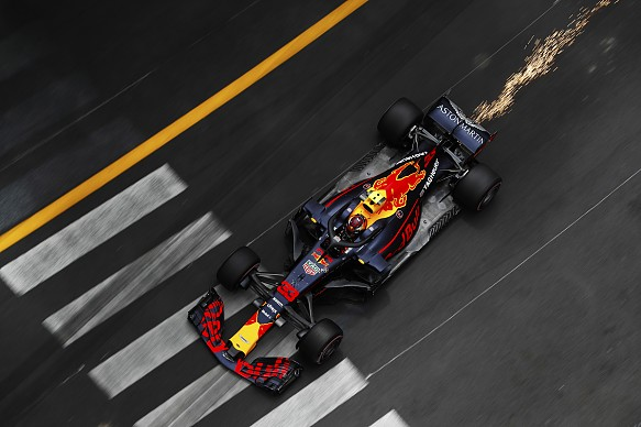 Max Verstappen Red Bull Monaco GP 2018