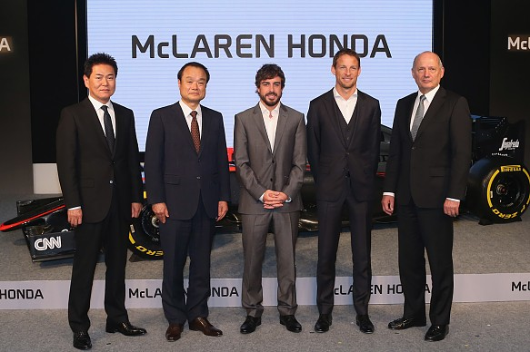McLaren Honda launch