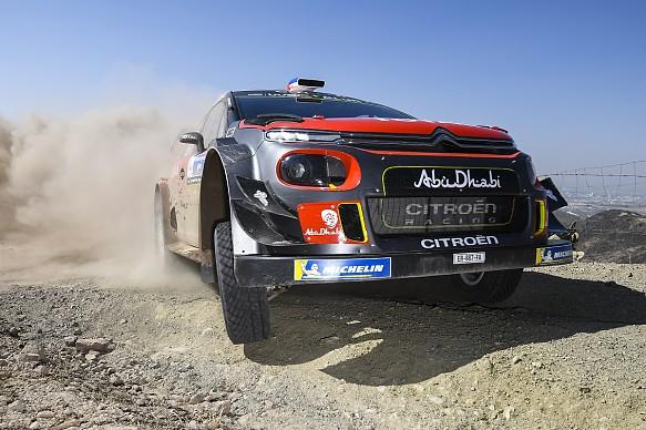 Sebastien Loeb Citroen WRC Mexico 2018