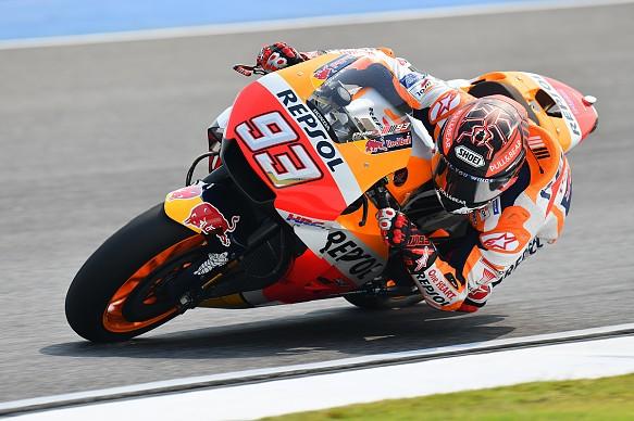 Marc Marquez Honda MotoGP testing Buriram 2018